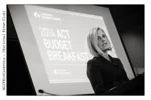 ACT Chief Minister Katy Gallagher. (Image source: Life in Canberra Magazine)