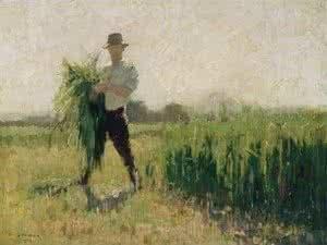 Summer morning, 1916, Elioth Gruner. Image: www.museumsandgalleries.act.gov.au